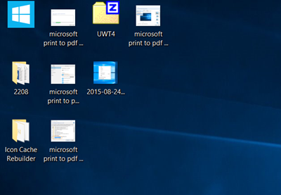 Desktop Ansicht Windows 10