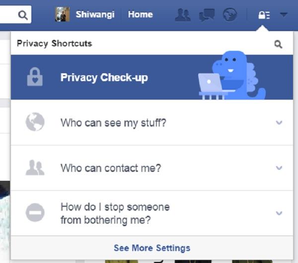 Facebook Datenschutz Post